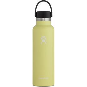 Hydro Flask Standard Mouth Bidón con Tapa Estándar Flex 621ml, amarillo